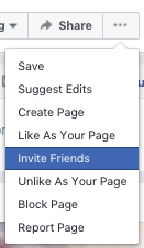 Invite Facebook Friends and Grow Your Business Page with Aspen Grove Marketing